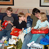 Nephew Aaron with Cindy's kids, Alex, Garrison and Isabella