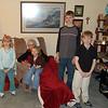 Grandma Sally with Cindy's kids
