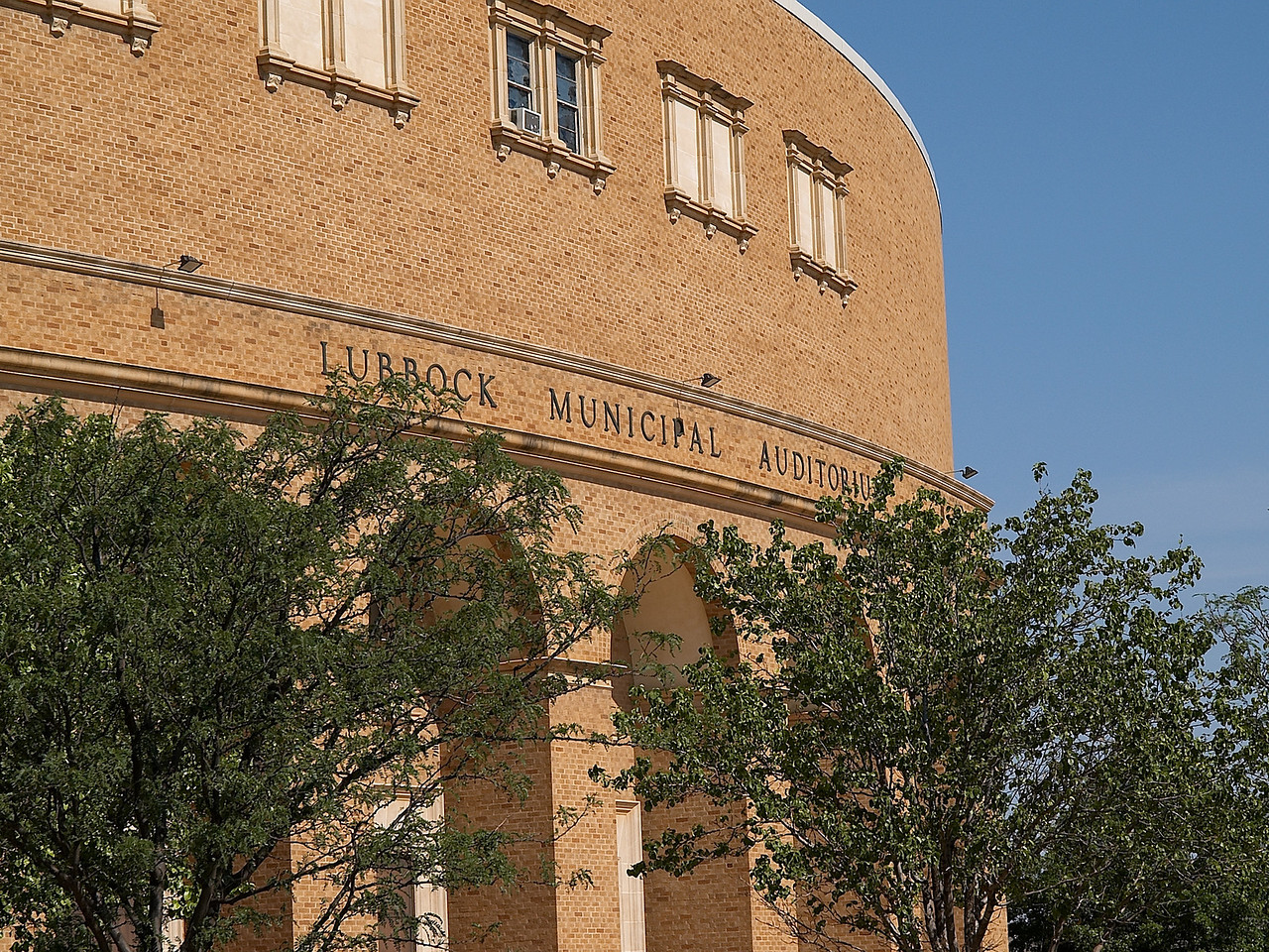 Lubbock Municipal Auditorium- where the basketball team played prior to the building of United Spirit Arena