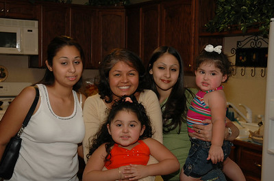 Me with my brother's kids: Erica, Samantha, Jessie and Valerie.