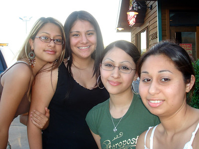 I took Amy, Michelle, Jessie and Erica out for a girl's night out.