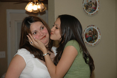 My sister-in-law Ruby and her stepdaughter, my neice, Jessie.