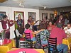 A madiachi band plays for us at the Pico de Gallo restaurant