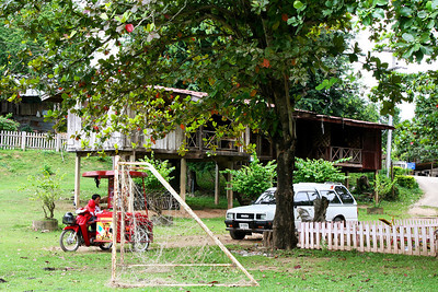 Faculty housing at Pak Huay Chalong School (โรงเรียนบ้านปากห้วยฉลอง)