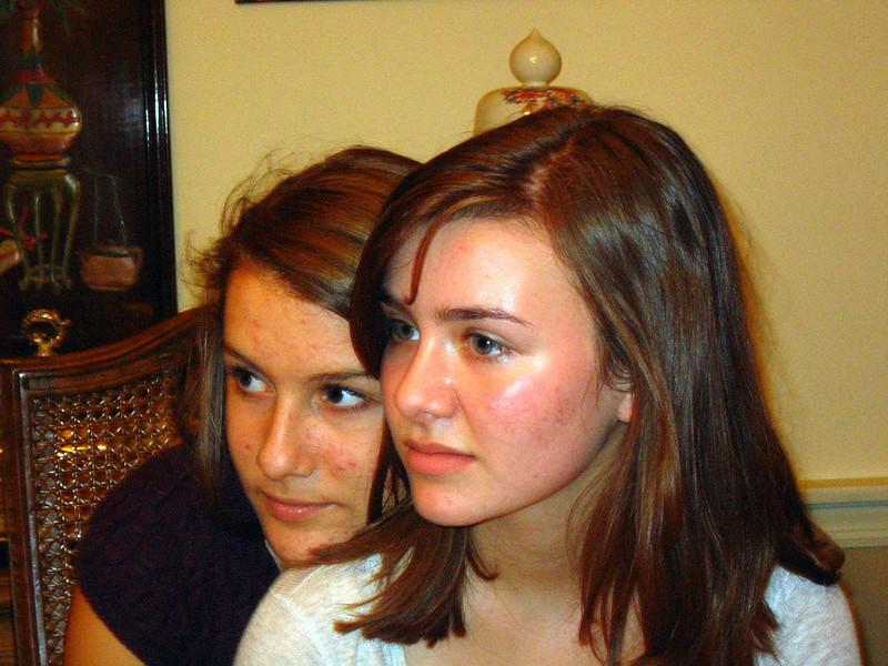 Rachel and Elyssa