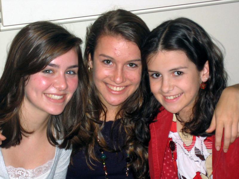 Elyssa, Rachel, Samantha