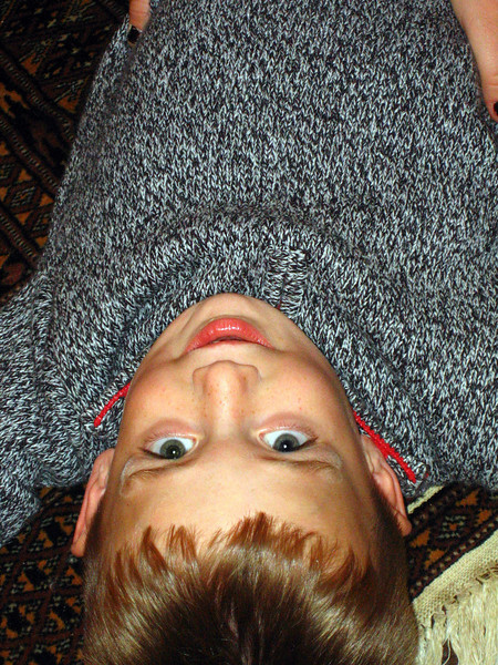 Upside down Stevie