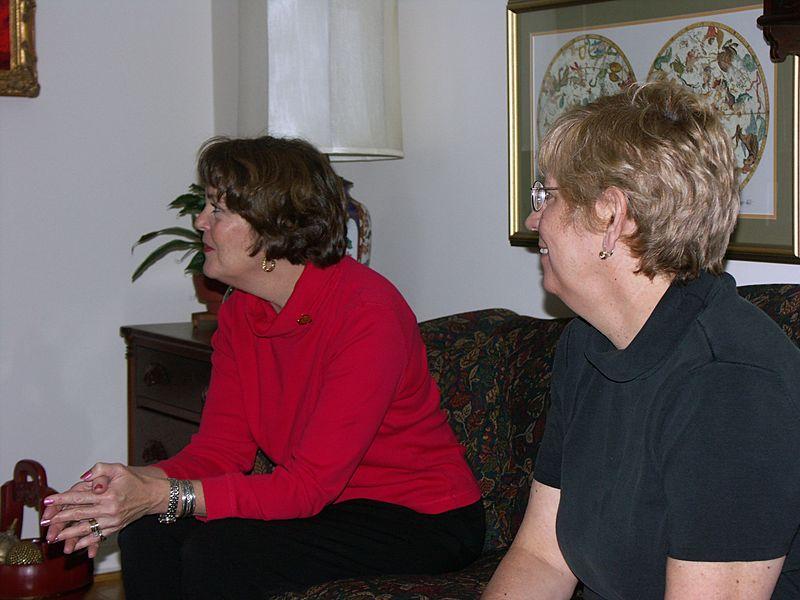 Barbara Alexander & Cindy Harmon