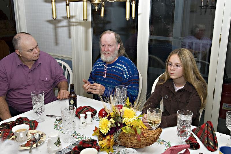 John, Alan and Jordan
