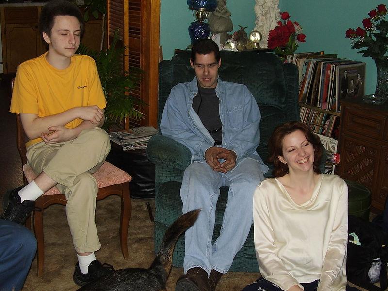 David, Greg, and Lenora