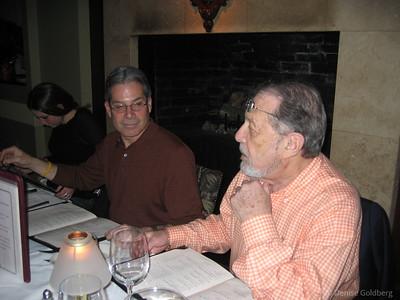 Neal and Dad, November 2005