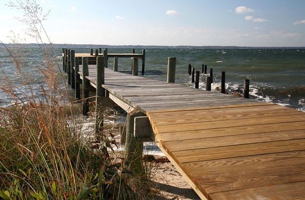 sunlit dock <br /> And another dock shot.