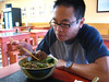 Beef noodle soup at Old Place Cafe (???) is a must when Howard's in town.