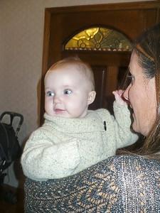 Heidi holding Kimberly