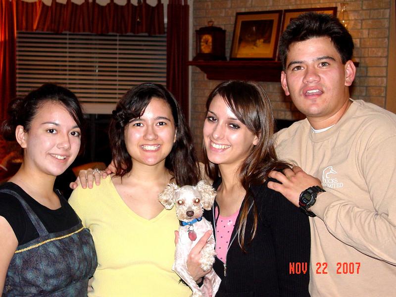 Lorena, Tara,  Anaka, Windell