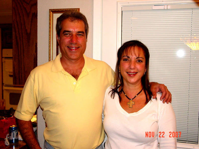 Uncle Gary and Aunt Pammy
