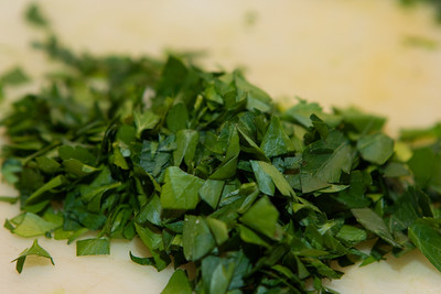 Chopped parsley (for the carrots).