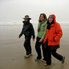 Photo taken by Colleen Sher.<br /> The 3 sista's hamming it up on the beach walk.