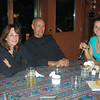 Photo taken by Colleen Sher.<br /> Linda, Ray and Jessica (Leila and Dennis' daughter)