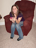Cat pauses for a moment from her French iPhone lesson.<br /> <br /> Thanksgiving_2009- (1 of 3)