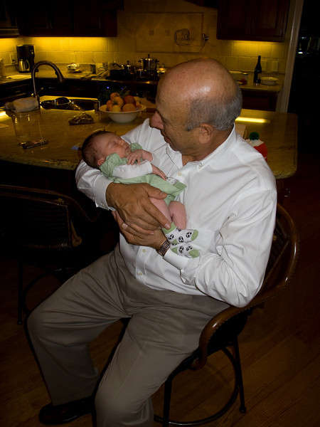 Uncle Roy with Callie