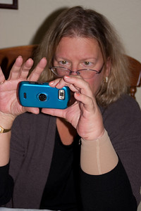 Ann with camera.