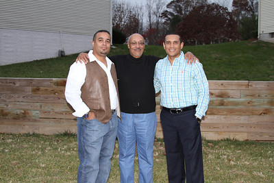 Joey, Dad and Bobby