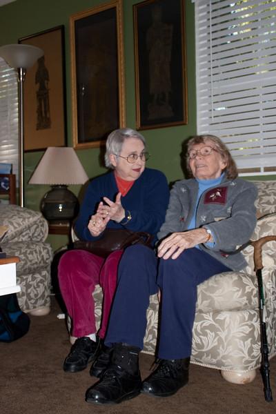 Barbara Jean and Mom.