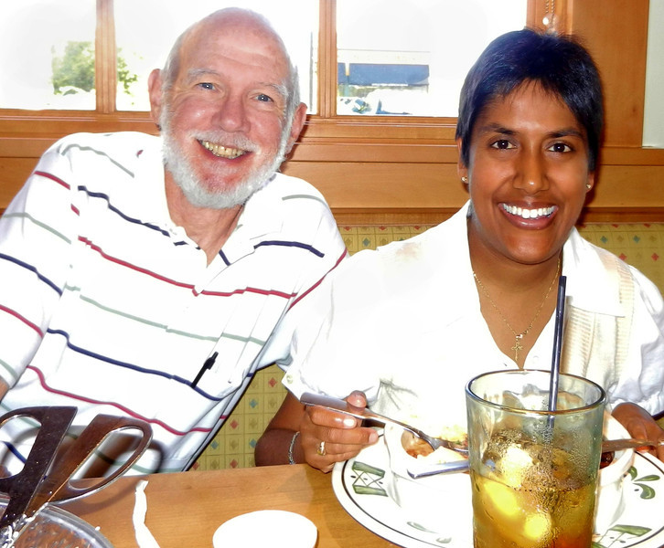 Farewell luncheon at Olive Garden