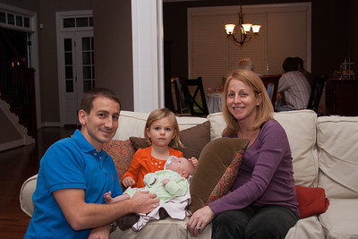 Kevin, Madeline, Savannah, Tara (and baby boy Calkins who will arrive in March 2012)