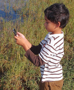 Hey, Mom. I can't get a signal in this swamp.