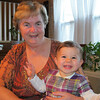Charlotte and grandma enjoying Thanksgiving.