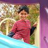 Peyton on the playground