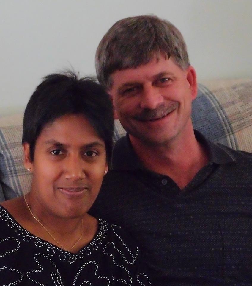 Lori and Joe. Thanksgiving 2011.