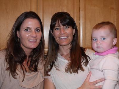 Heidi, Meghan, and Rose