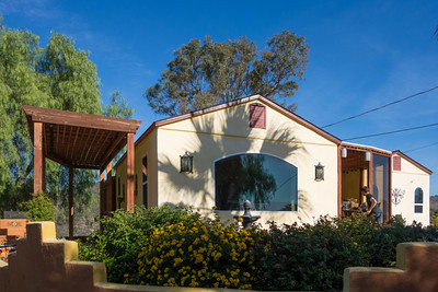 Scott and Corlis' new hobby farm in Burbank, CA. This is the main house