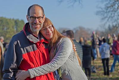 David and Olivia at the Thanksgiving Hunt