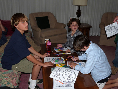 Jimmy, Marty, and Paul are in the coloring contest