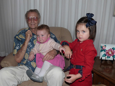 Uncle Jim, Rosie, and Mary