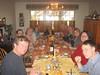 At the table: Bob, Brett, Eleanore, Brynne, Katie, Donna, Deb, Jon, Robert, Gerry, Mara, Rob.