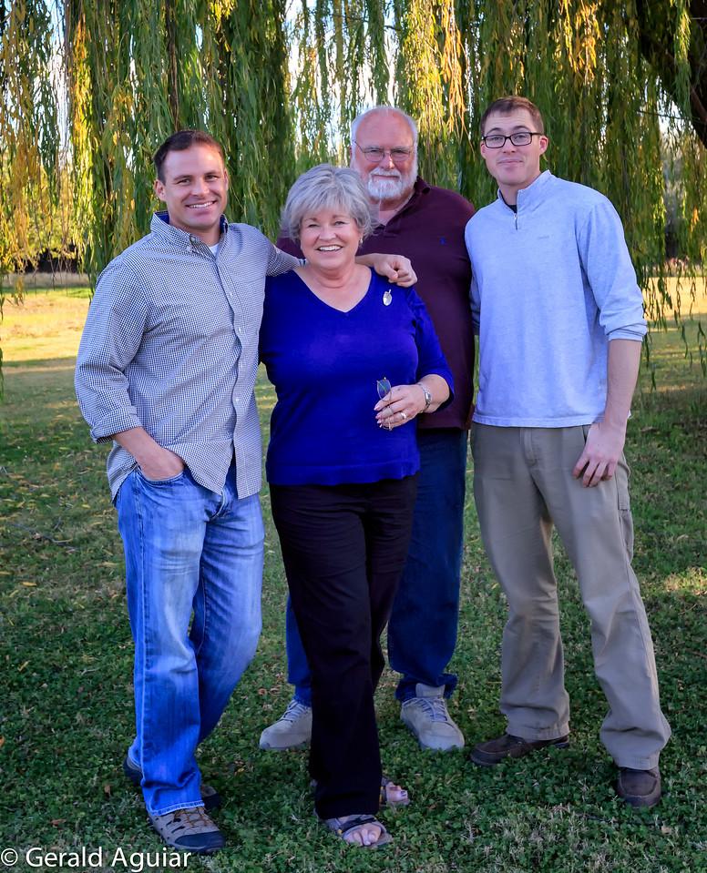 The Burge family
