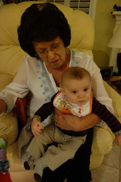 And Great Grandma got her time with Parker