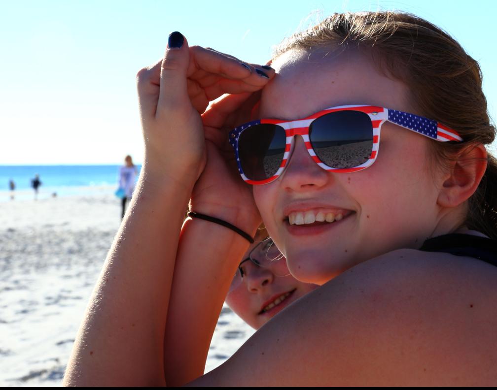 Noelle at the beach