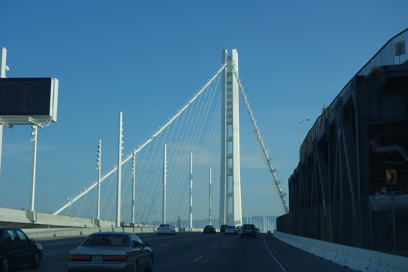 Kelli drove us over the new bay bridge.  :)