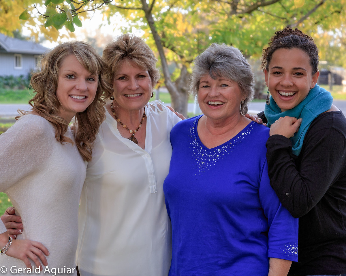 Kristin, Jenny, Linda, and Amanda
