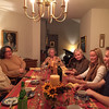 After dessert at the Munroes: Brett, Mara. Eleanore, Deb, Katie and Rob. November 2015.