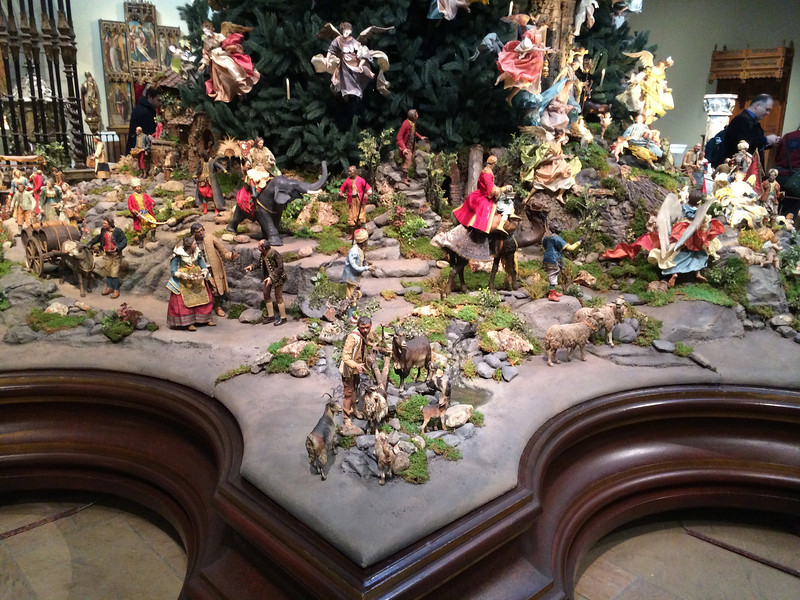 Base of the Christmas Tree at the MET
