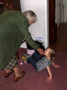 Great-Grandma and Cambria
