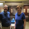 Dick and Susan in front of the Hope Diamond.
