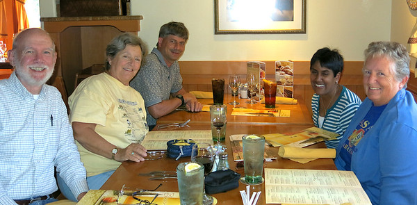 Lunch at Olive Garden
